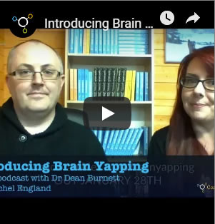 still from brain yapping video